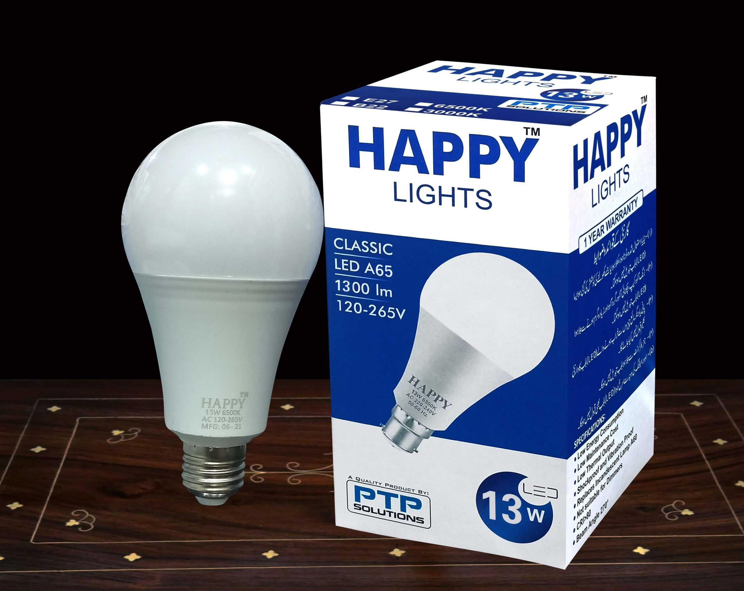 13 WAAT LED Bulb Price in Pakistan | My Happy Store